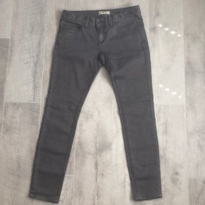 Free People Skinny Jeans Size 25 brown/grey
